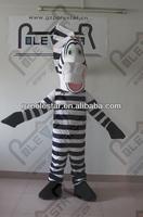 2012 new zebra mascot costumes NO.4215