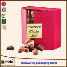 different type cardboard tube round chocolate gift packaging boxes supplier/2012 wedding chocolate box