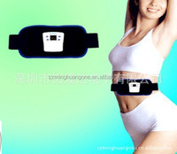 GYMform Dual shaper Stimulate muscle Electrical pulse shock reject fat slimming lose weight belt