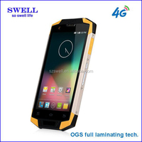 5.0inch IPS 4G 3G 2G IP68 certificate GPS FM Bluetooth approval waterproof cellphone 5inch quad core MSM8916 X9
