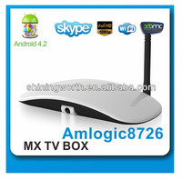 android 4.2 skype iptv box full hd media player 1080p