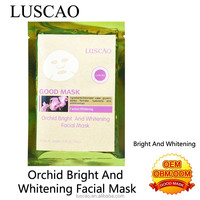 Fragrance perfume brand for orchid bright and whitening facial mask fast bright