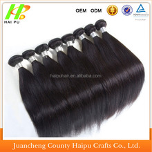 remy silky straight brazilian hair extension wholesale human hair/chinese hair/indian hair