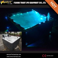 2015 New!!!153 jets 6 person outdoor spa hot tub with sex massage/sex you tub/family ozone sex hot tub