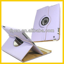 For Apple iPad NEW 360 Rotating PU Leather Case Cover w Swivel Stand Wholesale Good Price