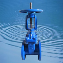 BS5163 manual operated rising stem cast iron water gate valve