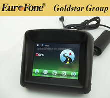 hot 3.5inch Waterproof motorcycle GPS Navigation