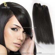 2015 Hot Sale!!! Tangle Free No Shedding 100% Human Hair High Quality relaxed straight hair
