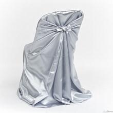120cm*140cm universal satin folding wedding chair Cover