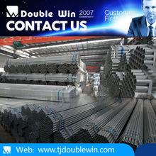 Ronda tubo de acero galvanizado we are the fabricación trading oriental