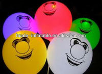 Inflatable advertising led balloon for festival decoration