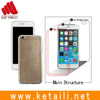 TPU bumper flame + PC backcover clear cell phone case for iphone 6