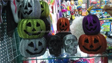 2015 the new design Halloween decor artificial pumpkins to decorate with led light