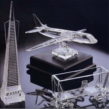 AAA High quality Crystal Model, Crystal plane, car and building