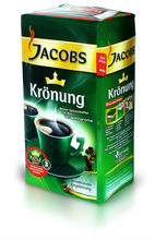 Jacobs Kronung ground coffee 500g, 250 g