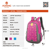 2015 new school colourful nylon aoking backpack bags