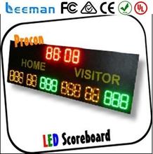 2 digit 7 segment led display p5 led display led football scoreboards