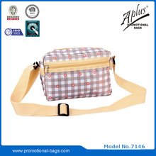 2015 promotional waterproof two sided shoulder bag