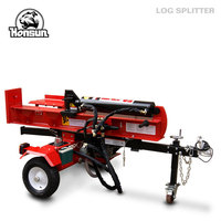 Germany Hanover exhibited forestry machiney - 2014 China supplier Control valve CE 50 ton manual hydraulic log splitter