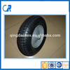 Free sample small rubber wheels for indusrial lawn mower