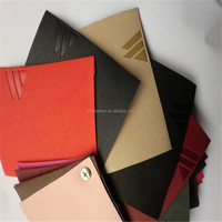 color change PU Material pu leather for diary cover HX502