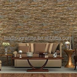 Natural slate rustic color stone exterior wall cladding tile/kitchen /bathroom wall stone