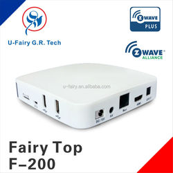 Low power consumption wireless smart home automation systems Z-wave gateway have a promising maket
