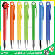 Color Plastic Cheap Promotional Ball Pen with Customized logo