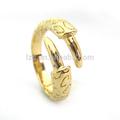repujado dragón forma de dedo el anillo de oro de los diseños para los hombres