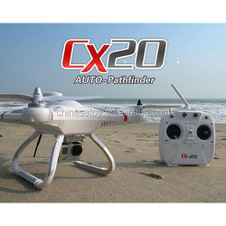 !CX-20 Phantom 2.4G FPV Auto-Pathfinder 4-Axis RC Quadcopter GoPro with GPS Altidude Hold System Drone Quadcopter