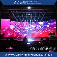 led color changing curtain light far advertising