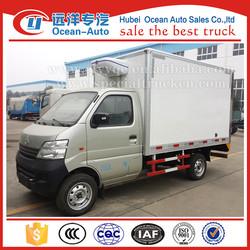 Changan mini refrigerator truck gasoline refrigeration van for sale