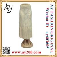 Custom latest long skirt design women fashion skirt lady pencil skirt