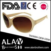 Vogue Taiwan Custom Tender Peach Oversized Top Selling Sunglasses