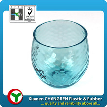 Plastic jello cup, tinted, OEM, PC material, plastic injection
