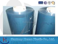 black pvc glass film crystal clear laminating film blue plastic sheet in roll