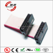 custom 10pin 2.0mm pitch ul2651 28awg flat ribbon cable 2651 28awg 7/0.08mm pitch 1.27mm