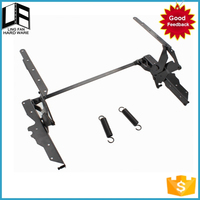 kids furniture folding table leg bracket, lift coffee table screw lifting mechanism