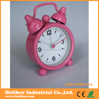 metal material table clock with mini size