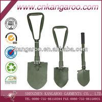 Military soldier use multi-function Retractable shovel
