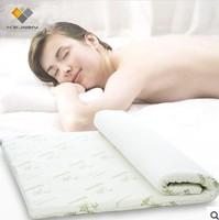 "bamboo fabric 2""-3""memory foam mattress topper"