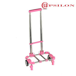 Taiwan Upsilon foldable hand trolley/folding hand cart/folding shopping trolley cart