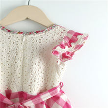 Export best sell cotton dresses for little girls