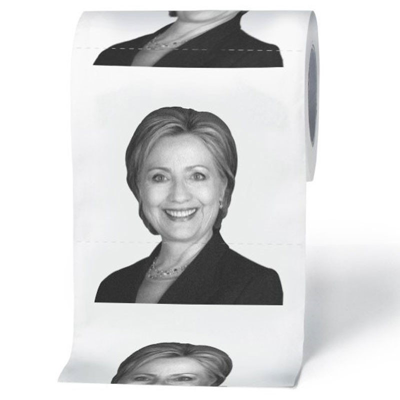 Custom Donald Trump Printed Toilet Tissue Paper Novelty Toilet Paper ...