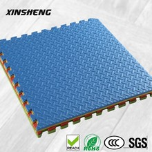 High density anti fatigue kids interlocking EVA foam plastic floor mats