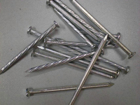 2 inches steel nail, 2'' concrete nail, 50mm nail (factory)
