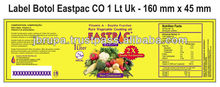 EASTPAC BRAND VEGETABLE COOKING OIL