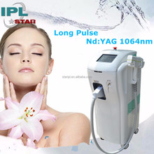 Hottest dark skin 1064nm long pulse ndyag laser hair removal machine for sale