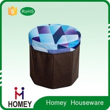 2015 hot high quality low price multipurpose fabric brown storage boxes