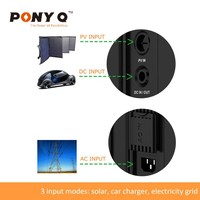 0.8KW 1.28KWh Portable Lithium ion Battery Solar Generator by Shenzhen Sinopoly New Energy